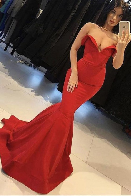 Mermaid Long Prom Dresses Formal Evening Gowns 6011146